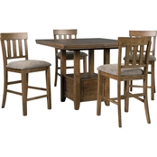 Benchcraft Flaybern 5 pc. Counter Height Dining Set