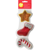 Wilton 3 pc. Holiday Cookie Cutter Set