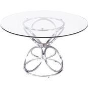Armen Living Brooke Dining Table