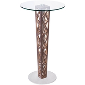 Armen Living Crystal Pub Table