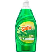 Gain Ultra Dishwashing Liquid Dish Soap, Original 21.6 oz.
