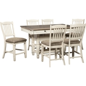 Signature Design by Ashley Bolanburg 7 pc. Counter Height Dining Set