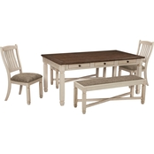 Signature Design by Ashley Bolanburg 5 pc. Dining Set