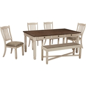 Signature Design by Ashley Bolanburg 6 pc. Dining Set