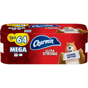Charmin Ultra Strong Toilet Paper, 16 Mega Roll