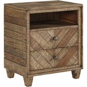 Signature Design by Ashley Grindleburg 2 Drawer Nightstand