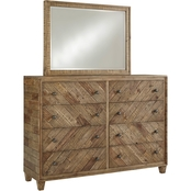 Signature Design by Ashley Grindleburg Dresser and Mirror Set