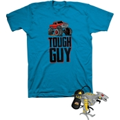 Buzzcuts Boys Tough Guy Trucks Tee with Gamer Headphones