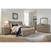 Signature Design by Ashley Lettner Storage Bed 5 pc. Set