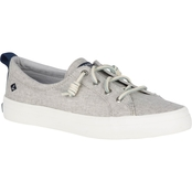 Sperry Women's Crest Vibe Washed Linen Sneakers