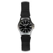 Frontier Classic Metal Watch with Military Time