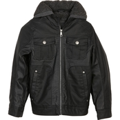 Urban Republic Boys Textured Faux Leather Jacket