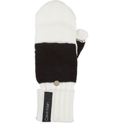 Calvin Klein Colorblock Flip Top Gloves