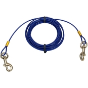 Coastal Pet Titan 15 ft. Cable Dog Tie Out with Brass Plated Snaps