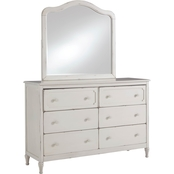 Signature Design by Ashley Faelene Dresser and Mirror Set