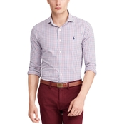 Polo Ralph Lauren Classic Fit Plaid Performance Twill Shirt