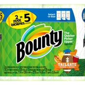 Bounty Select A Size Huge Roll Printed Paper Towels, 2 ct.