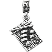 Nomades Sterling Silver Misawa AB Charm
