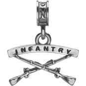 Nomades Sterling Silver Infantry Charm