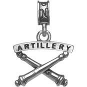 Nomades Sterling Silver Artillery Charm