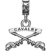 Nomades Sterling Silver Cavalry Charm