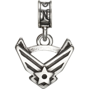 Nomades Sterling Silver Air Force Emblem Charm