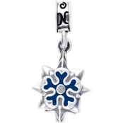 Nomades Sterling Silver Military Intelligence Charm