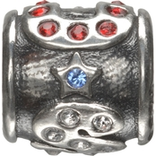 Nomades USA Bling Spacer Sterling Silver Charm