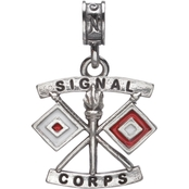 Nomades Sterling Silver Signal Corps Charm