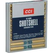 CCI Shotshell .22 WMR 52 Grain, Shotshell #12, 20 Rounds
