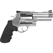 S&W 500 500 S&W 4 in. Barrel 5 Rnd Revolver Stainless Steel