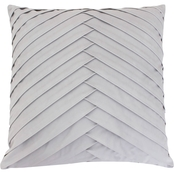 Thro James Pleated Velvet Pillow