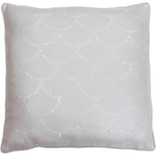 Thro Asa Diamond Scale Pillow