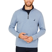 Nautica Half Zip Mock Neck Top