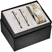 Bulova Ladies Boxed Gift Set from the Crystal Collection 32mm 98X119