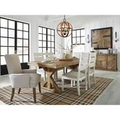 Signature Design by Ashley Grindleburg 7 pc. Dining Set with 2 Arm Chairs