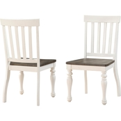 Steve Silver Joanna Classic Farm House Chair 2 pk.