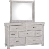 Signature Design by Ashley Brashland Dresser and Mirror Set