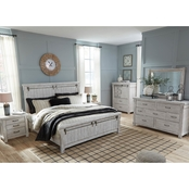Signature Design by Ashley Brashland Panel Bed 5 pc. Set