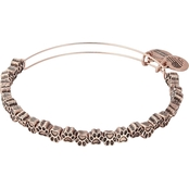 Alex and Ani Paw Print Beaded Bracelet