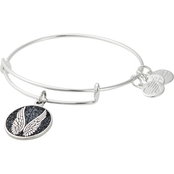 Alex and Ani Color Infused Guardian Angel Charm Bracelet