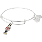 Alex and Ani Color Infused Nutcracker Charm Bracelet