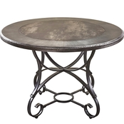 Greystone 45 in. Round Table and Base