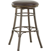 Steve Silver Bali Backless Barstool