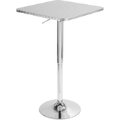 LumiSource Bistro Adjustable Bar Table