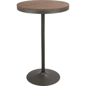 LumiSource Dakota Adjustable Bar Table