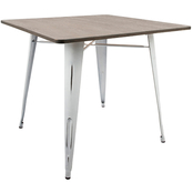 LumiSource Oregon Square Dining Table