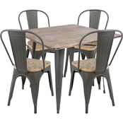 LumiSource Oregon 5 pc. Dining Set