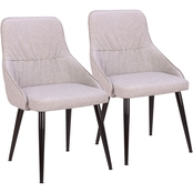 LumiSource Alden Dining Chair 2 pk.