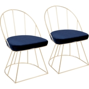 LumiSource Canary Dining Chair Set of 2